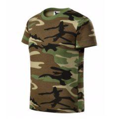 Detské askáčové tričko Camouflage